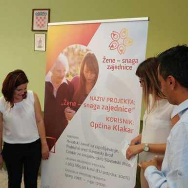 Žene - snaga zajednice u općini Klakar