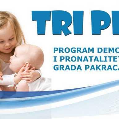 Pakrac - program TRI PLUS nastavlja se i u 2020.