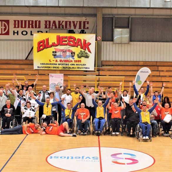 """Proglašeni pobjednici 20. Međunarodnih sportskih susreta invalida """"Bljesak 2019"""""""
