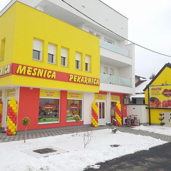 U Osječkoj ulici otvorena nova mesnica Bebrinka i pekarnica Janković