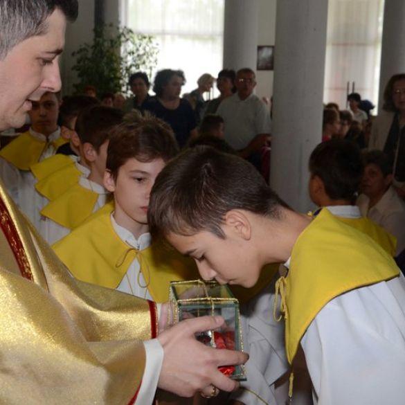 Župa bl. Alojzija Stepinca u naselju A. Hebrang danas slavi crkveni god