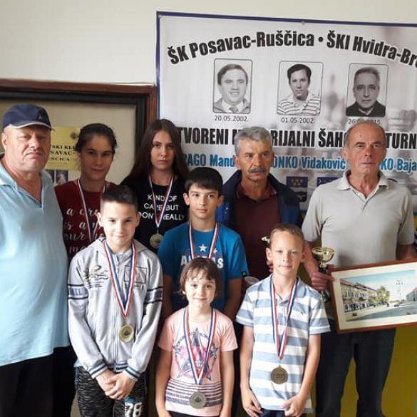 U Ruščici održan 16. memorijalni šahovski turnir