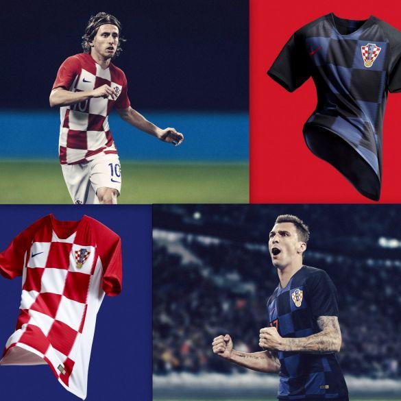 HNS i Nike predstavili nove dresove hrvatske reprezentacije