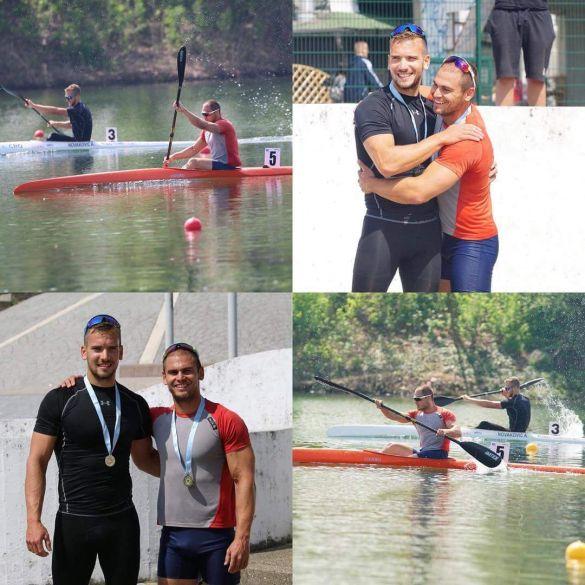 Antun Novaković uz bok aktualnom svjetskom prvaku Tomićeviću