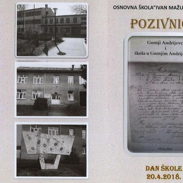 Područna osnovna škola u Gornjim Andrijevcima obilježava sto godina rada