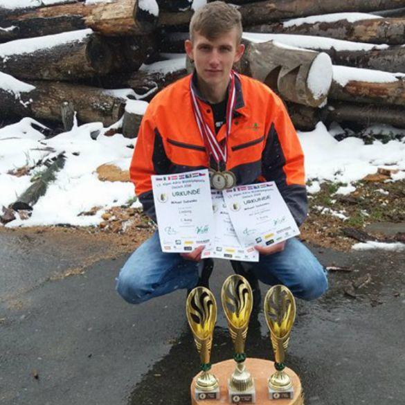 Mihael Dobenko iz Jakačine Male pobjednik 13. šumarske olimpijade