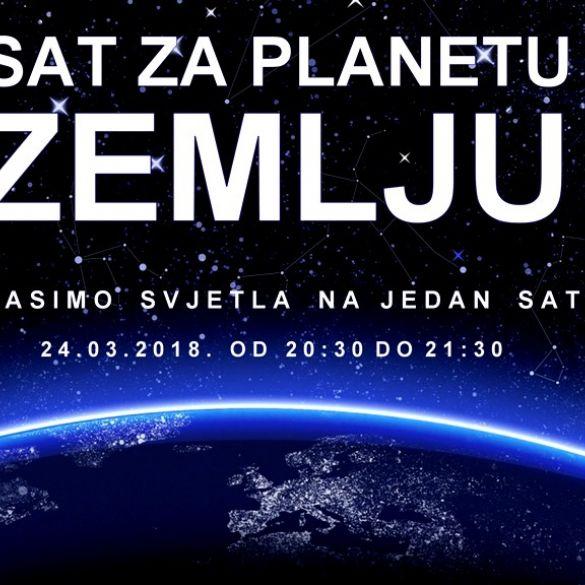 Sat za planetu Zemlju - Večeras u 20:30 ugasite sva nebitna svjetla
