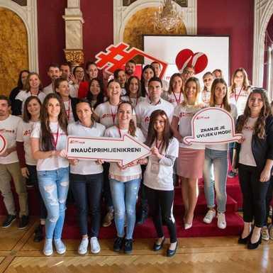 Program Coca-Colina podrška mladima u Osijeku i u ovoj godini