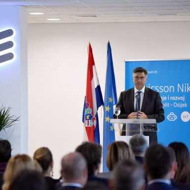 Otvoren razvojno-istraživački centar Ericssona Nikole Tesle u Osijeku