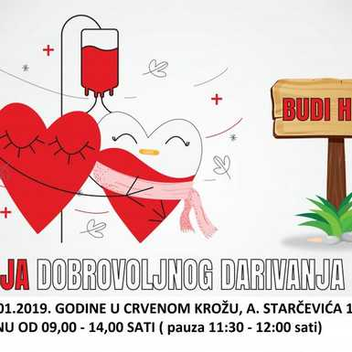 Akcije dobrovoljnog darivanja krvi u Slavonskom Brodu i Vrpolju