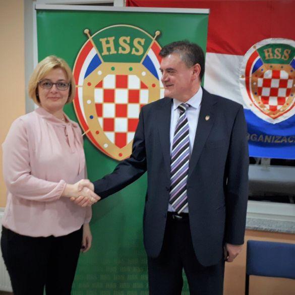 Željka Čorak nova predsjednica OO HSS-a Oriovac
