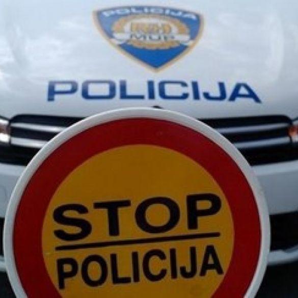 Medijska konferencija policijske uprave Brodsko-posavske