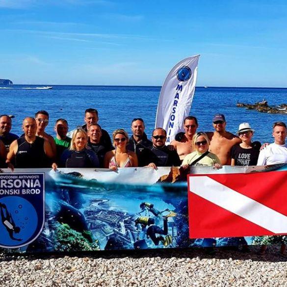 Brodski ronioci proveli tjedan dana u Komiži na otoku Visu