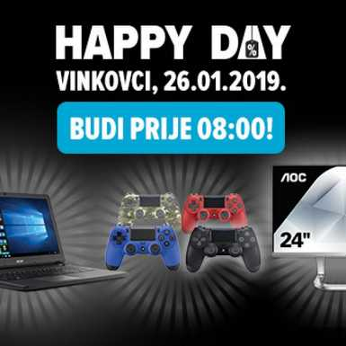 Happy Day Links u Vinkovcima 26. siječnja!