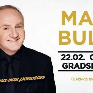 Turneja života Mate Bulića 'Ja sam na te ponosan' stiže u Osijek 22. veljače
