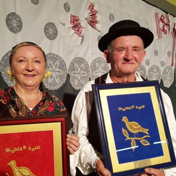 Željka Đurić i Franjo Milković najbolja počimalja i počimač 23. smotre pjevačkih skupina u Starim Perkovcima