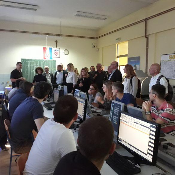 Šveđani u posjetu Tehničkoj školi