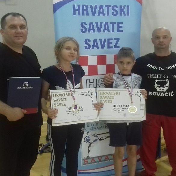 Brat i sestra Mikulić prvaci u savate boksu