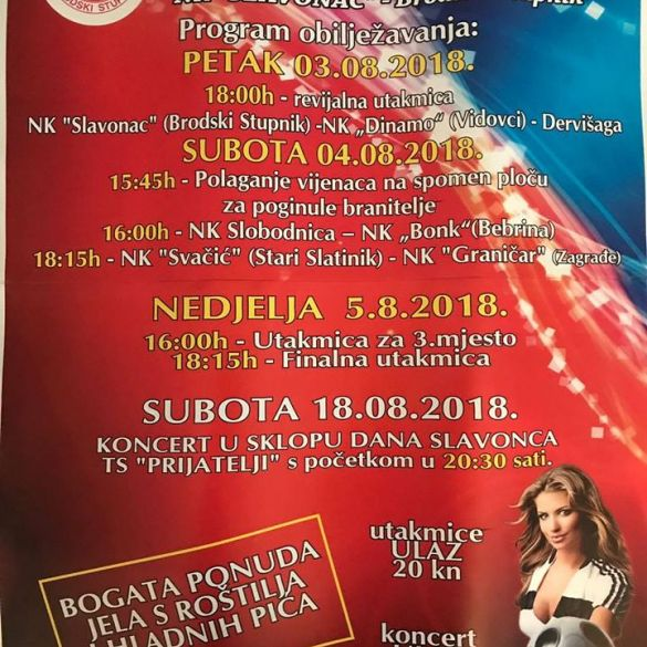 Dani Slavonca 2018.