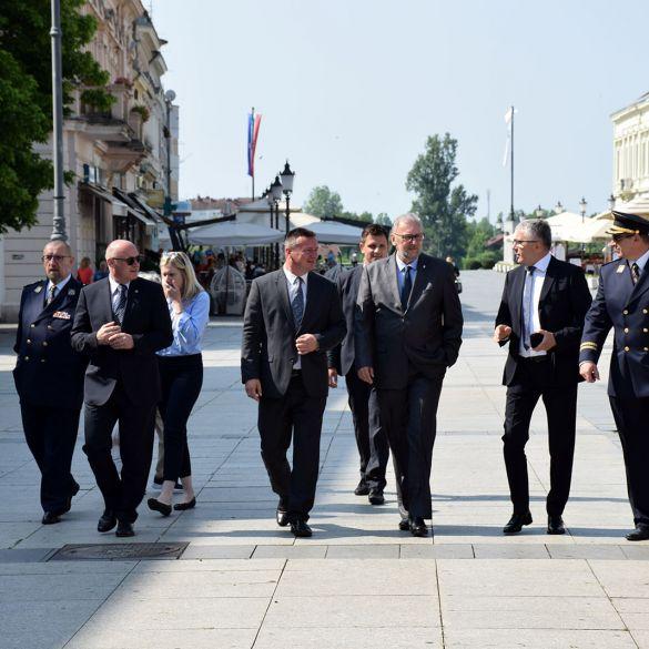 dan otvorenih vrata pU BP posjetio ministar Božinović