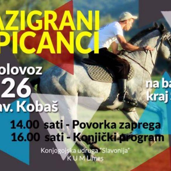Deseti Razigrani lipicanci u Slavonskom Kobašu