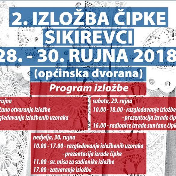 Danas u Sikirevcima otvorenje 2. izložbe čipke