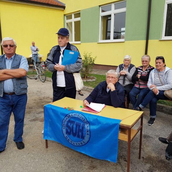 Županijski susret umirovljenika održan danas u Sikirevcima