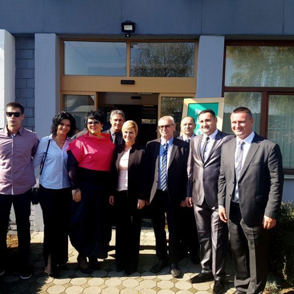 Predsjednica posjetila 'Zlatni cekin', Poljoprivrednu školu i tvrtku 'Slavonija DI'