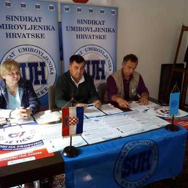 Županijski Sindikat umirovljenika pridružuje se prosvjedu protiv mirovinske reforme