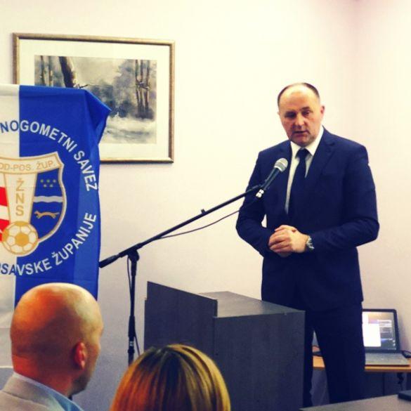 Dubravko Galović jednoglasno dobio novi mandat na čelu nogometnog saveza BPŽ