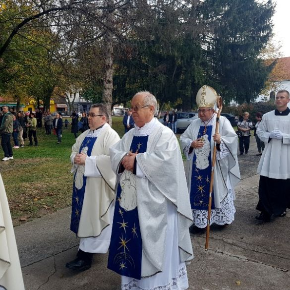 Kardinal Vinko Puljić predvodio središnje misno slavlje u župi Gospe Brze Pomoći