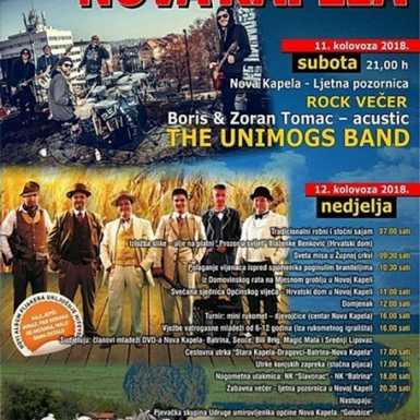 Dani općine Nova Kapela i blagdan svete Klare