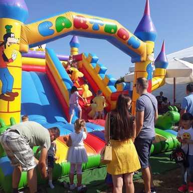 Veseli Dječji sajam otvoren u Tvrđavi Brod