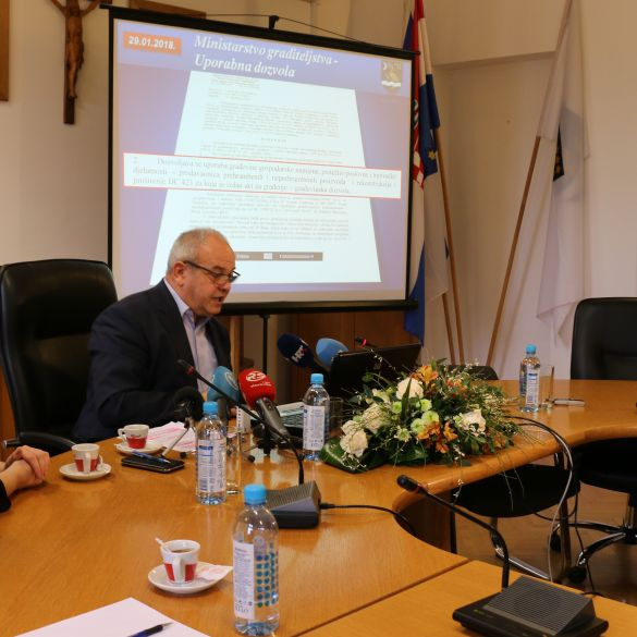 Duspara: Podnijeli smo tužbu protiv Ministarstva graditeljstva