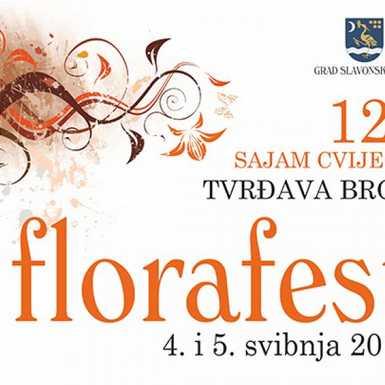 """12. Sajam cvijeća """"Florafest"""" u brodskoj Tvrđavi"""
