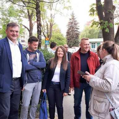 HSS-ovi kandidati za Europski parlament posjetili Slavonski Brod