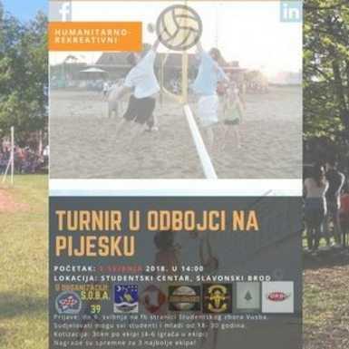 Studenti VUSB pripremaju humanitarno rekreativni turnir u odbojci na pijesku