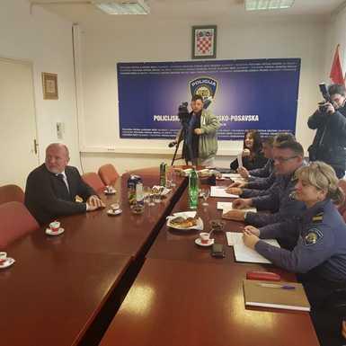 Sastali se načelnik PU BP Valić i dopredsjednik RS Jerković