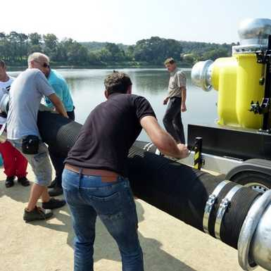 Testirane nove pumpe za vodu županijskog Stožera civilne zaštite