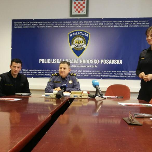 Na konferenciji uz godišnja izvješća predstavljeni novi službenici policije
