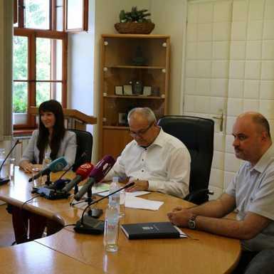 konferencija za medije na temu organiziranja nastave u Područnoj školi Osnovne škole Vladimir Nazor u Ruščici