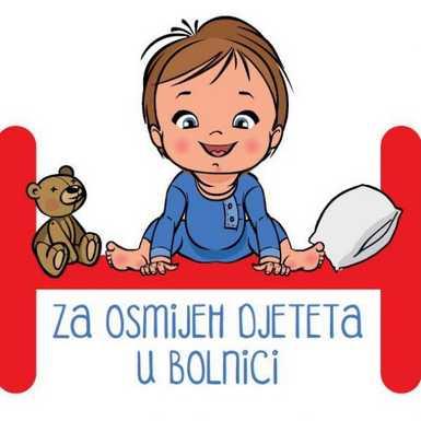 Knjige i čitanje za osmijeh djeteta u bolnici