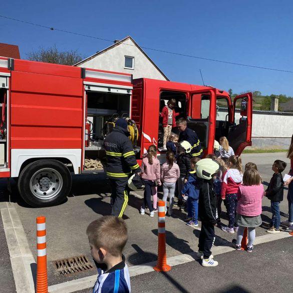 Svjetski dan vatrogasaca u Dječjem vrtiću Sibinj