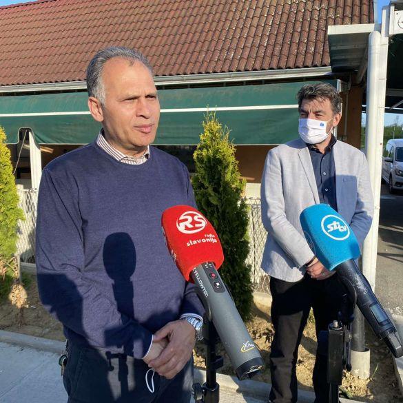 Saborski zastupnik Veljko Kajtazi i državni tajnik Dragan Jelić u posjetu MO Josip Rimac