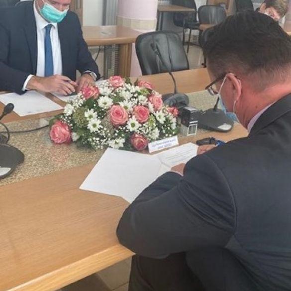 Sporazum o osnivanju županijskog Gospodarsko socijalnog vijeća