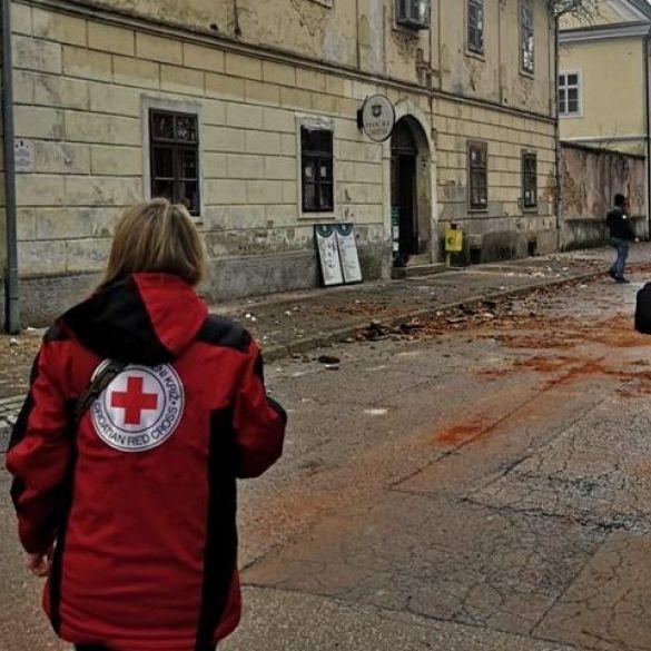 Gradsko društvo Crvenog križa prikuplja potrepštine za stradale u potresu
