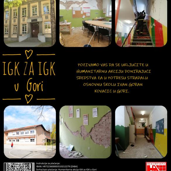 IGK za IGK u Gori - velika akcija brodske osnovne škole