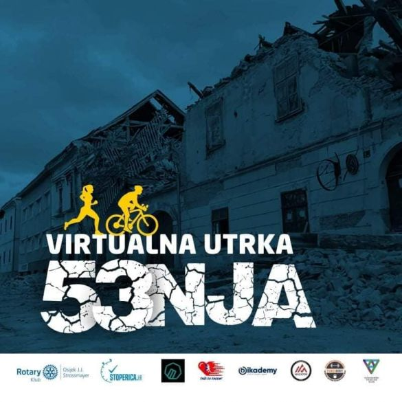 "Humanitarna virtualna utrka ""Hodaj, trči, bicikliraj za Petrinju"""