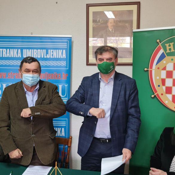 HSS i Stranka umirovljenika u koaliciji za lokalne izbore