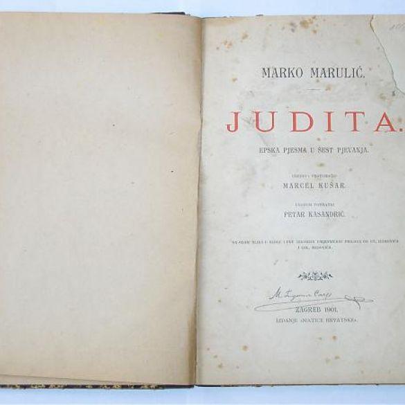 Dan je hrvatske knjige u spomen na Marulićevu Juditu